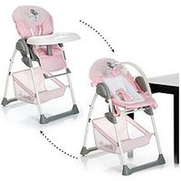 Hauck Sit N Relax Highchair - Birdie, Pink