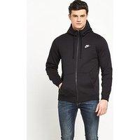 Nike Nike Sportswear Club Fleece Full Zip Hoody, Black, Size Xl, Men