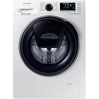Samsung Ww80K6610Qw/Eu 8Kg Load, 1600 Spin Addwash&Trade; Washing Machine With Ecobubble&Trade; Technology - White