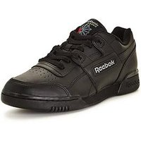 Reebok Workout Plus, Black, Size 11, Men