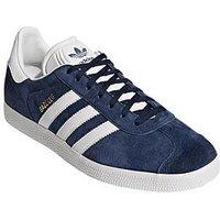 adidas Originals Originals Gazelle, Navy, Size 8, Women