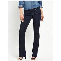 Levi's 715 Bootcut Jeans , Lone Wolf, Size 26, Inside Leg Regular, Women