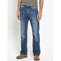 Levi's 527 Slim Boot Cut Jean, Mostly Mid Blue, Size 30, Length Regular, Men