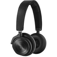 B&O Play By Bang &Amp; Olufsen H8 Active Noise Cancelling On-Ear Wireless Headphones - Black Leather