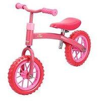 Hauck E-Z Rider 10 Inch Balance Bike - Pink