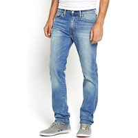 Levi's 511 Mens Slim Fit Jeans, Harbour, Size 30, Inside Leg L=34 Inch, Men