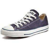 Converse Chuck Taylor All Star Ox Plimsolls - Navy, Navy, Size 7, Women