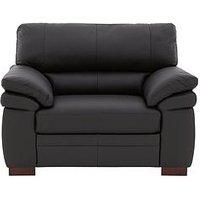 Freeman Premium Leather Armchair
