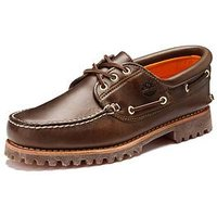 Timberland Hand Sewn Mens Boat Shoes, Brown, Size 11, Men