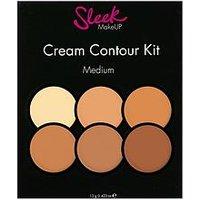 Sleek Cream Contour Kit Medium, One Colour, Women