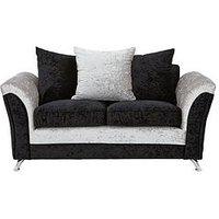 Product photograph showing Zulu 2 Seater Fabric Sofa