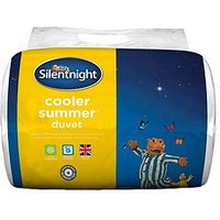 Product photograph showing Silentnight Cooler Summer 4 5 Tog Duvet