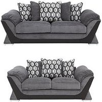 Hudson 3-Seater + 2-Seater Sofa Set (Buy And Save!)