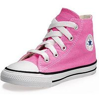 Converse Chuck Taylor All Star Hi Core Infant Trainer, Pink, Size 4