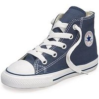 Converse  Chuck Taylor All Star Hi Core Infant Trainer, Navy, Size 8