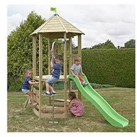 Tp Castle Tower With Wavy Slide