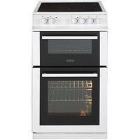 Belling Fs50Edoc 50Cm Double Oven Electric Ceramic Cooker  - Cooker With Connection