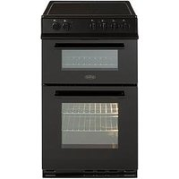 Belling Fs50Edofc 50Cm Double Oven Electric Ceramic Cooker  - Cooker With Connection