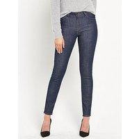 Lee Scarlett High Waist Skinny Jean - Blue Anchor, Blue Anchor, Size 26, Inside Leg Long, Women