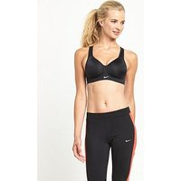 Nike Rival Sports Bra - Black, Black, Size 34C, Women