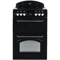 Leisure Cla60Cek 60Cm Electric Classic Range-Style Cooker And Optional Connection - Black - Cooker Only