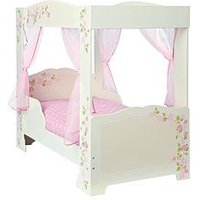 Product photograph showing Hello Home Rose Four Poster Toddler Bed