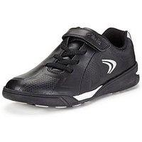 Clarks Boys Award Leap TrainersWidth Sizes Available, Black, Size 13 Younger