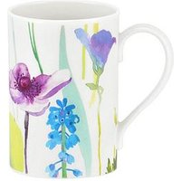 Product photograph showing Portmeirion Water Garden Set Of 4 Mugs