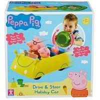 Peppa Pig Peppa Pig Holiday Drive &Amp; Steer