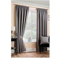 Plain Dye Blackout Unlined 3In Curtains