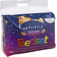 Silentnight Kids Complete Bed Set - Includes 10.5 Tog Duvet, Mattress Protector And Pillow