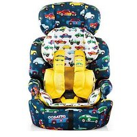 Cosatto Zoomi Group 123 Car Seat - Rev Up, One Colour