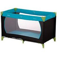 Hauck Dream n Play Travel Cot, Waterblue