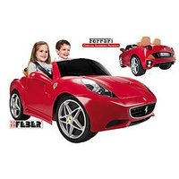 Feber Ferrari California 12V Battery Operated Car