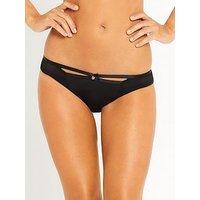 Myleene Klass Strapping Brief - Black, Black, Size 10, Women