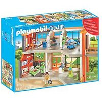 Playmobil Playmobil Furnished Children'S Hospital