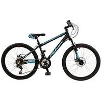 Falcon Nitro Full Suspension Boys Mountain Bike 24 Inch Wheel