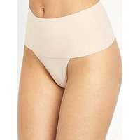 Spanx Undie-Tectable Thong - Soft Nude, Natural, Size Xl, Women