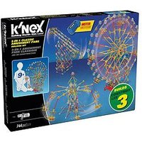 Knex 3-In-1 Classic Amusement Park Building Set