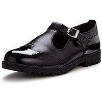 Kickers Lachly T Shoe , Black, Size 8, Women
