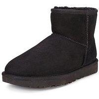 UGG Classic II Mini Boot, Black, Size 8, Women