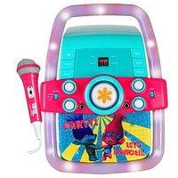 Dreamworks Trolls Cdg Karaoke Machine With Lights