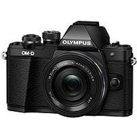 Olympus E-M10 Mark Ii Compact System Camera With 14-42 Mm F/3.5-5.6 Ez Zoom Lens &Ndash; Black