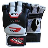 Rdx Cow Hide Leather Mma Gloves