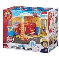 Fireman Sam Fireman Sam Electronic Ponypandy Figure Station Playset