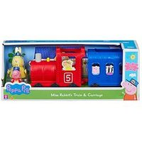 Peppa Pig Peppa Pig Miss Rabbits Train &Amp; Carriage
