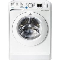 Indesit Bwa81683Xw 8Kg Load, 1600 Spin Washing Machine - White