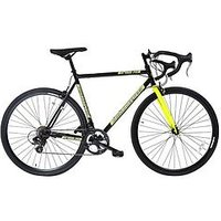 Muddyfox Road14 Mens Road Bike 56cm Frame, Black/yellow, Men