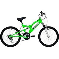 Flite Turbo Full Suspension Boys Bike 20 Inch Wheel