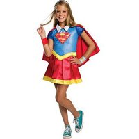 Dc Super Hero Girls Dc Superheroes Deluxe Supergirl Child Costume